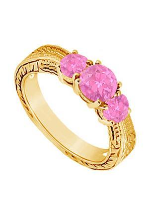 Love Bright Jewelry EL207UJ20037494VYPSRS Pink Women Rings