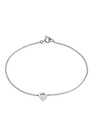 Love Bright Jewelry EL207UN20037328AGPS  Pink Women Necklaces