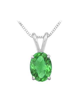 Love Bright Jewelry EL207UP200089757EAG  Green Women Pendants