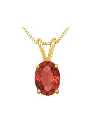 Love Bright Jewelry EL207UP20024059AGVY  Red Women Pendants
