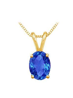 Love Bright Jewelry EL207UP20024060AGVY  Blue Women Pendants