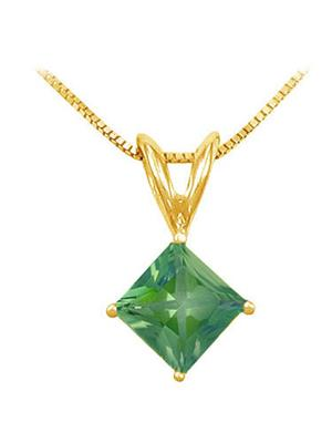 Love Bright Jewelry EL207UP20024084AGVY  Green Women Pendants