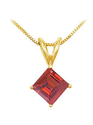 Love Bright Jewelry EL207UP20024085AGVY  Red Women Pendants