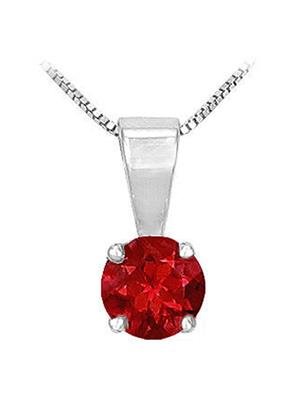 Love Bright Jewelry EL207UP200370340RAG  Red Women Pendants
