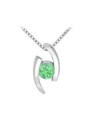 Love Bright Jewelry EL207UP20037258GCZE  Green Women Pendants