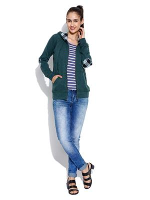 Envy Me Em15-088 Green Women Sweatshirt