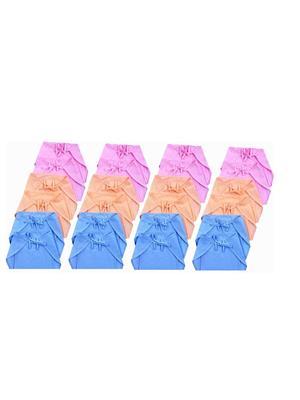 Eshas ES24CNCDS  Peach,Blue & Pink Boys & Girls Cloth Diaper Pack of 24