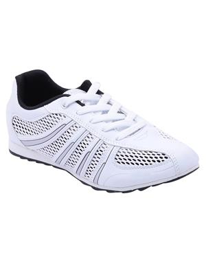 Escan Es670244 White Women Sports Shoes