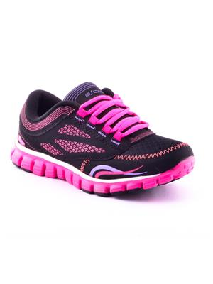 ESCAN ES6952-2 Black and Pink Sports Shoes