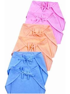 Eshas ES6BCNCDL  Peach,Blue & Pink Boys & Girls Cloth Diaper Pack of 6