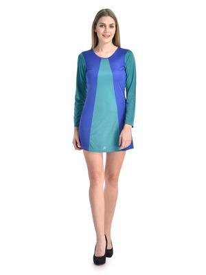 Esmartdeals Esd11340 Turquise-Blue Women Dress