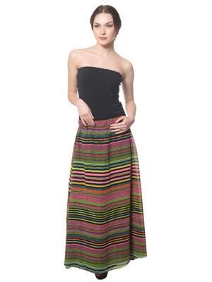 Ambitione Esd12096 Multicolored Women Skirt