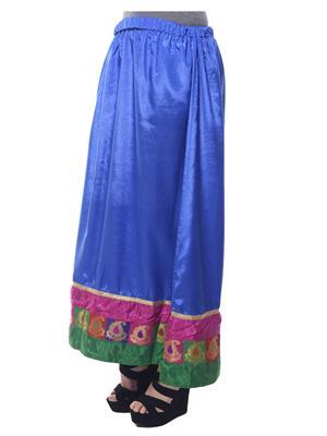 Esmartdeals Esd12100 Blue Women Skirt