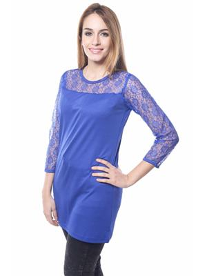 Ambitione Esd12224 Blue Women Top