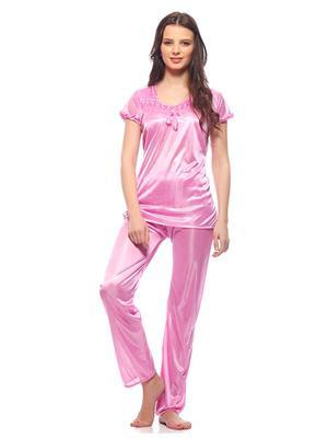 Esmart Deals Esd13183 Deep Pink Women Night Suit