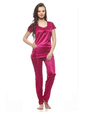 Esmart Deals Esd13189 Megenta Women Night Suit