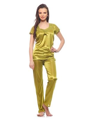 Esmart Deals Esd13198 Green Women Night Suit