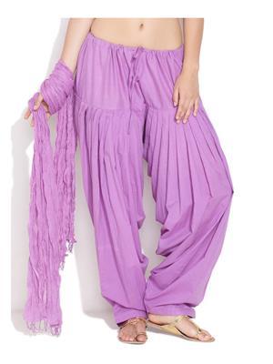 Esmart Deals Esd13447 Lavender Women Salwar & Dupatta