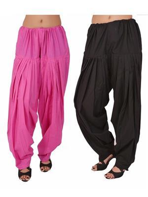 Esmart Deals Esd13575 Multicolored Women Semi Patiyala Salwar Set Of 2