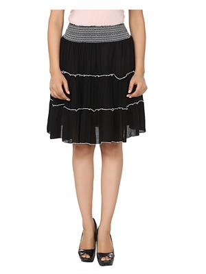 Esmartdeals Esd14304 Black Women Skirt