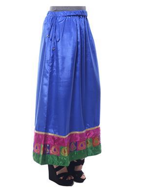 Esmartdeals Esd19264 Blue Women Skirt