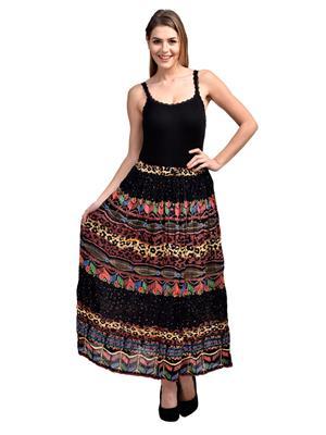 Esmartdeals Esd19276 Multicolored Women Skirt