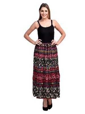 Esmartdeals Esd19288 Multicolored Women Skirt