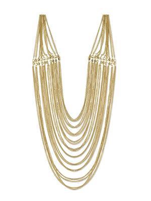 Esmartdeals Esd2274 Gold Plated Women Necklace Set