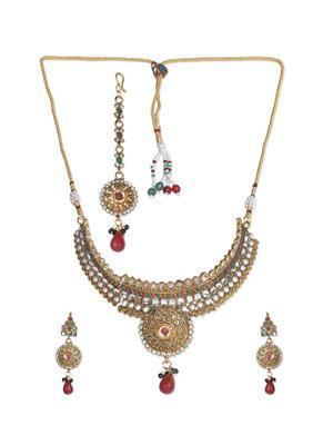 Esmartdeals Esd3076 Gold Plated Women Necklace Set