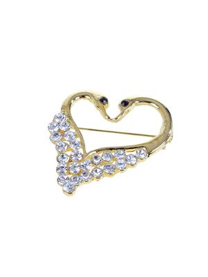 Esmartdeals Esd3808 Gold Plated Women Brooch