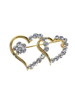 Esmartdeals Esd3988 Gold Plated Women Brooch