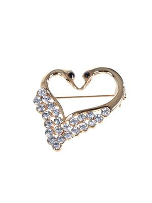Esmartdeals Esd3989 Gold Plated Women Brooch