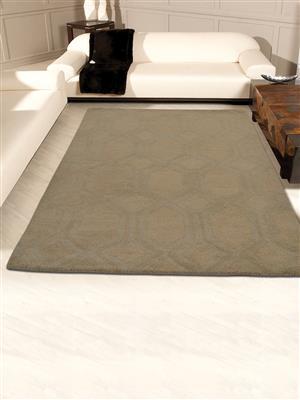 Royzez Handmade Woollen Rug Beige K01005