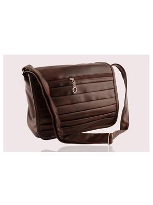 Arisha Ezz05 Dark Brown Women Sling Bag