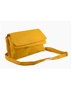 Arisha Ezz11 Yellow Women Sling Bag