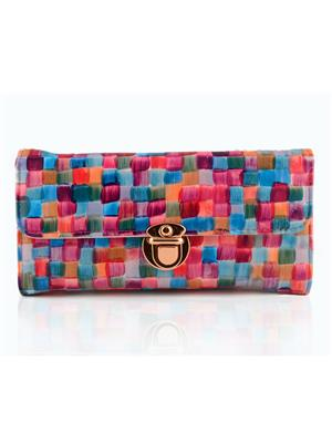 Arisha Ezz18 Multicolored Women Clutch