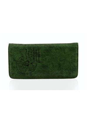 Arisha Ezz32 Green Women Clutch