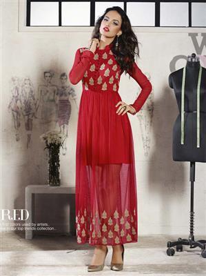 Eternal Rd-K-138 Red Women Dress