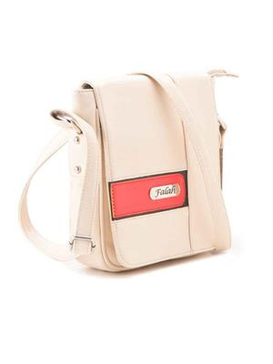 FALAH F112-W White Women Sling Bag