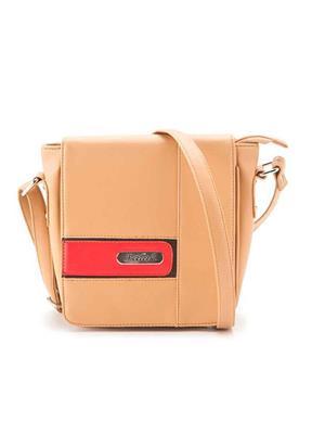 FALAH F112  Brown Women Sling Bag