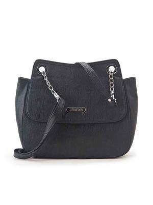 FALAH F169B  Black Women Sling Bag
