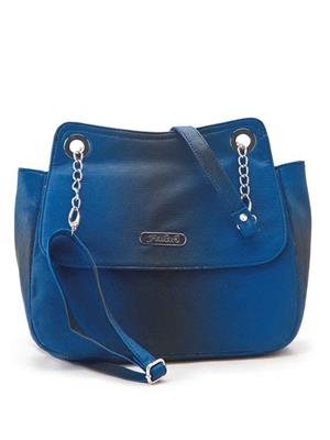FALAH F169  Blue Women Sling Bag