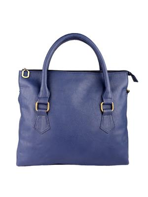 Fine Arch Fahb008-B Blue Women Shoulder Bag
