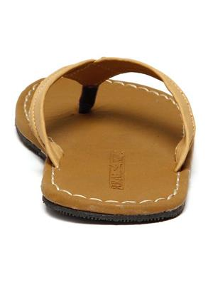 Foot Clone FC-031 Tan Men Slippers