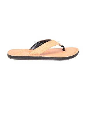 Foot Clone FC-077 Tan Men Slippers
