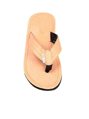 Foot Clone FC-077 Tan Men Slippers
