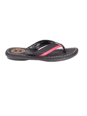 Foot Clone FC-078 Black Men Slippers