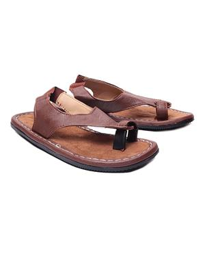 Foot Clone FC-080 Brown Men Slippers