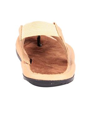 Foot Clone FC-080 Tan Men Slippers