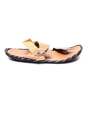 Foot Clone FC-103 Tan Men Floater Sandals